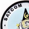 1st Airborne Command And Control Squadron Satcom Wizard Patch | Upper Left Quadrant