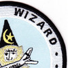 1st Airborne Command And Control Squadron Satcom Wizard Patch | Upper Right Quadrant