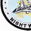 1st Airborne Command And Control Squadron Satcom Wizard Patch | Lower Left Quadrant