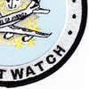 1st Airborne Command And Control Squadron Satcom Wizard Patch | Lower Right Quadrant