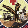 1st/24th Med Co & 717th K For 7 Medical Company Air Ambulance Patch | Center Detail