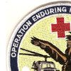 1st/24th Med Co & 717th K For 7 Medical Company Air Ambulance Patch | Upper Left Quadrant