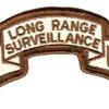 7th Infantry Division Long Range Scroll Desert Patch   Center Detail