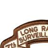 7th Infantry Division Long Range Scroll Desert Patch   Upper Left Quadrant