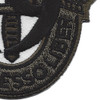 19th Special Forces Group Crest OD Green Black 19 Patch | Lower Right Quadrant