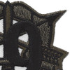 19th Special Forces Group Crest OD Green Black 19 Patch | Upper Right Quadrant