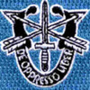 19th Special Forces Group Crest Flash   Patch | Center Detail