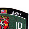 7th Infantry Division 7th Rocon Scout Military Occupational Specialty MOS Patch   Upper Right Quadrant