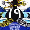 19th Commander Submarine Squadron Patch | Center Detail