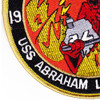 1991 Curse From Hell CVN-72 USS Abraham Lincoln Patch | Lower Left Quadrant