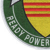 7th Fleet Vietnam Patch Ready Power For Peace | Lower Left Quadrant