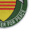 7th Fleet Vietnam Patch Ready Power For Peace | Lower Right Quadrant