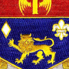 197th Field Artillery Regiment Patch | Center Detail