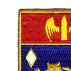 197th Field Artillery Regiment Patch | Upper Left Quadrant