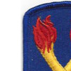 196th Infantry Brigade Patch | Upper Left Quadrant
