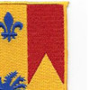 190th Field Artillery Regiment Patch | Upper Right Quadrant