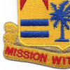 190th Field Artillery Regiment Patch | Lower Left Quadrant