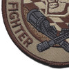 190th Fighter Squadron Desert Patch | Lower Left Quadrant