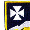23rd Infantry Regiment Patch Vietnam | Upper Left Quadrant