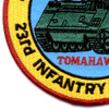 23rd Infantry Regiment 4th Battalion (Mech) Patch Tomahawks | Lower Left Quadrant