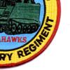 23rd Infantry Regiment 4th Battalion (Mech) Patch Tomahawks | Lower Right Quadrant