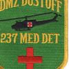 237th Medical Detachment Patch - DMZ Dust Off | Center Detail