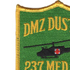 237th Medical Detachment Patch - DMZ Dust Off | Upper Left Quadrant