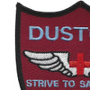 236th Aviation Medical Detachment Patch (Maroon) | Upper Left Quadrant