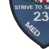 236th Aviation Medical Detachment Patch (Blue) | Lower Left Quadrant