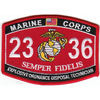 2336 Explosive Ordnance Disposal Technician MOS Patch