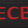 22nd Training Squadron ECB Red Patch Hook And Loop | Center Detail