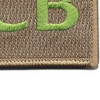 22nd Training Squadron ECB Green Patch Hook And Loop | Lower Right Quadrant