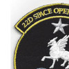 22nd Space Operations Squadron Patch Hook And Loop | Upper Left Quadrant