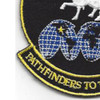 22nd Space Operations Squadron Patch Hook And Loop | Lower Left Quadrant