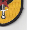 22nd SERE Training Squadron Sword And Star Patch Hook And Loop | Lower Right Quadrant