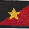 22nd SERE Training Squadron Gold Star Patch Hook And Loop | Center Detail