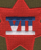 7th Corps Patch   Center Detail
