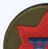 7th Corps Patch   Upper Left Quadrant