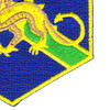 22nd Chemical Battalion Patch | Lower Right Quadrant