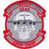 22nd Airlift Squadron Hells Crew Chief Patch