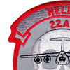 22nd Airlift Squadron Hells Crew Chief Patch | Upper Left Quadrant