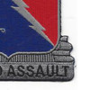 229th Aviation Regiment Patch | Lower Right Quadrant
