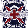 229th Aviation Medical Detachment 10th Mountain Division Patch | Center Detail