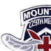 229th Aviation Medical Detachment 10th Mountain Division Patch | Upper Left Quadrant