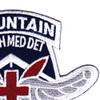 229th Aviation Medical Detachment 10th Mountain Division Patch | Upper Right Quadrant