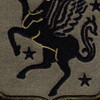 228th Aviation Regiment Patch - OD | Center Detail