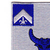 224th Infantry Regiment Patch | Upper Left Quadrant