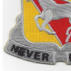 221st Cavalry Regiment Patch | Lower Left Quadrant
