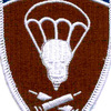 221st Airborne Medical Battalion Patch | Center Detail