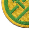 220th Military Police Brigade Patch | Lower Left Quadrant